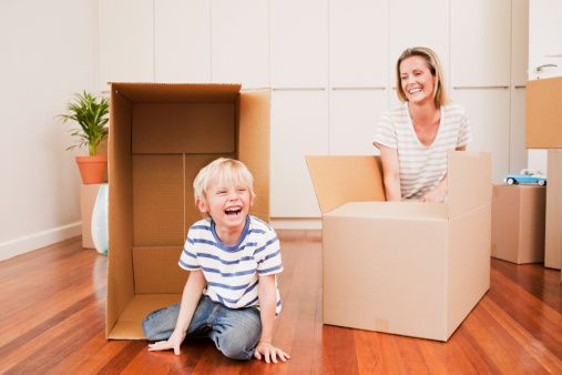 Moving Home with Kids and Pets